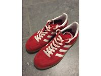 Adidas Spezial trainers. Uk size 5.5. Red with white stripes. Excellent condition