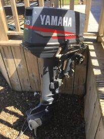 20hp Yamaha Outboard engine