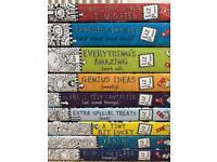 Brand new! Set of 9 Tom Gates by Liz Pichon books for older children.