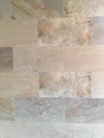 Kitchen Tiles Leicester metallic white .. wall tiles .. bathroom / kitchen .. 100 x 100