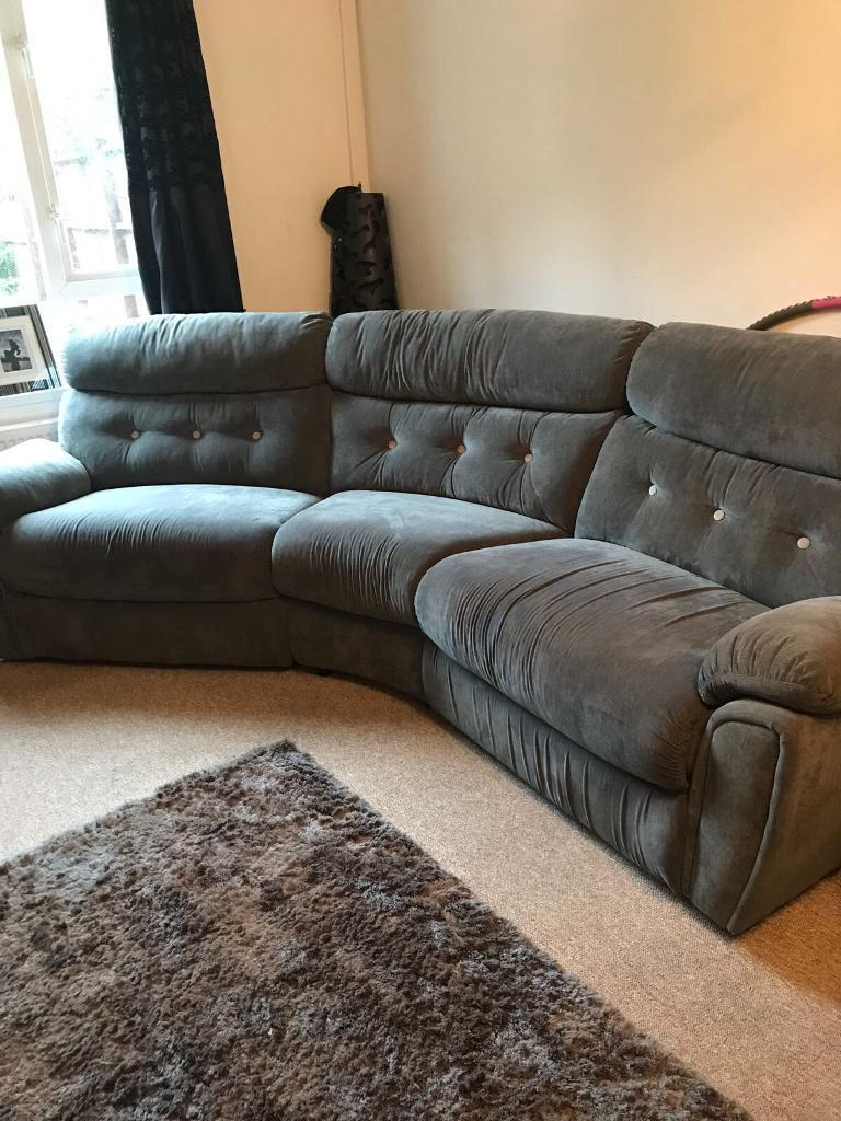 Curved sofa and electric arm chair