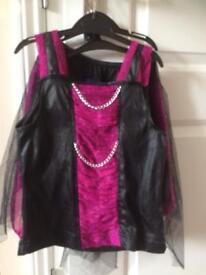 Monster high dress up age large 8-10yrs