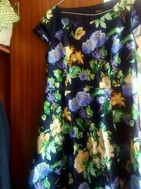 SOLO COCKTAIL FLORAL DRESS price negotiable