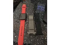 I watch series 1 with 42mm face and 3 straps and charger