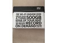 500GB sky + HD box