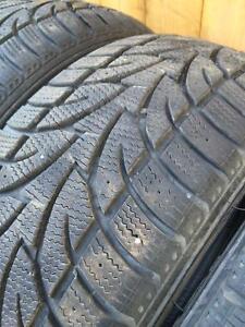 4 pneus d hiver 215/50r17 sailum