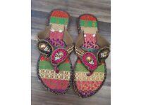 Handmade flip flop size 3