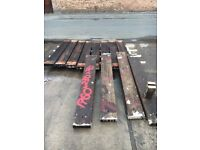 Reclaimed Hardwood timbers oak? 1800x 250x 70 mm Quality timber vintage shaby chic retro