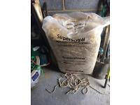 Superstraw for horse/chickens/rabbits