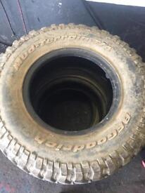 265 75 16 bf goodrich mud-terrain t/a x 4