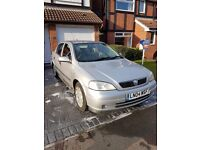 2004 Vauxhall Astra 1.6 LS Twinport SILVER