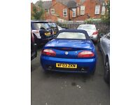 MG TF car for sale, spares