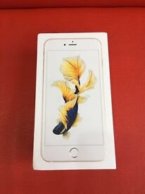 IPhone 6S Plus Gold brand new in box with apple warranty for sale