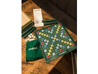 "Scrabble board game in ""As new"" condition"