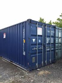 Ex rental 20ft shipping container