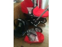 Mothercare Xpedior Travel System £50