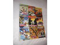 9 COMMANDO COMIC BOOKS VERY GOOD CONDITION
