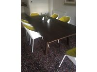 Large Dining Table suit Boardroom as well