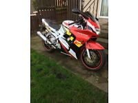 CBR600F3 swap for 125cc