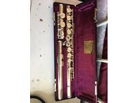 Jupiter flute with soft and hard case