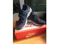 Blue Nike Huaraches Size 12 Boxed