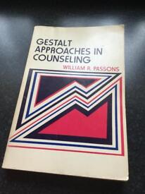 Gestalt approaches in counselling