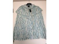 ASOS Poncho In Tie Dye (Size UK 12) - Brand new with tags