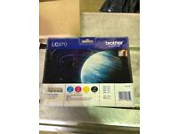Brother LC 970 4 pack of ink cartridges un opened