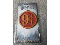 Harry potter luggage label strap