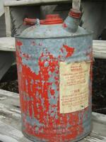 Large Antique Gas Can