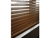 Faux Wooden Blinds X 2