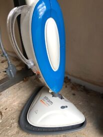 Steam cleaner for floor with various attachments