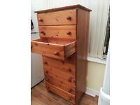 Set of 8 drawers