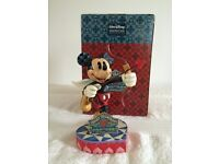 """Disney Traditions Mickey Mouse """"Love is in the Air Cupid """""""