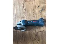 Bosch Cordless Grinder With 3 Ah Battery