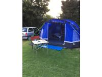 Hi Gear Mojave 5 Tent with Additional Hi Gear Porch