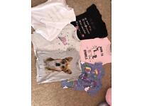 Girls T-shirts 5-6
