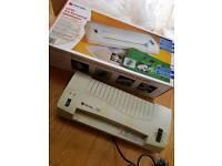 Laminator in box. Used