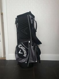 Nearly new Calloway golf stand bag