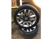 """Vauxhall vectra / Zafira / Astra 17"""" allo with tyre x1 07594145438"""