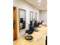 Salon Chairs and nail station to let within David Lloyd Health Club Dudley