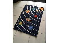 Child's space rug