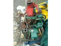 Volvo MD1 single cylinder . Runs and gears work fine but needs some tlc or good for spares