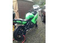 kawasaki motorcycle low milage £1950