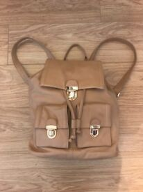 Real Leather Ladies rucksack