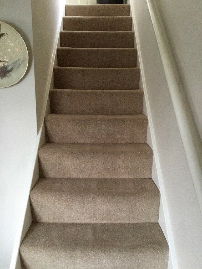 Very Good Condition Cream Hall Stairs Amp Landing Carpet