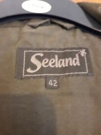 Seeland jacket and trousers as new warn once
