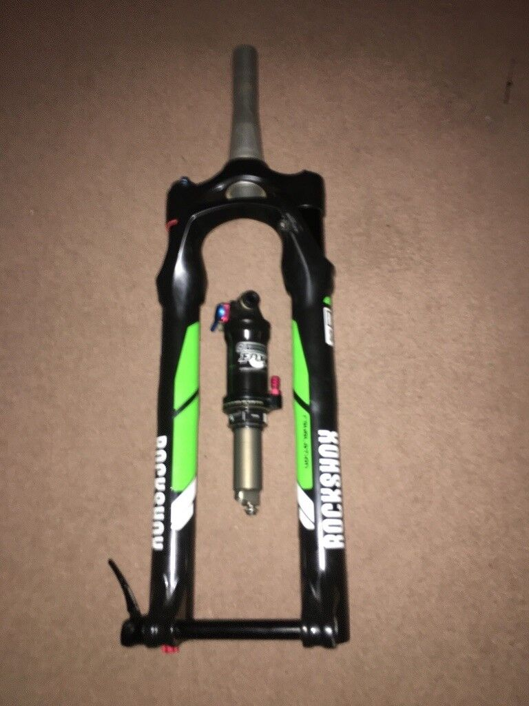 38d2c79f3dc Rockshox revelation 150mm (rc3 / 27.5) and rear shock fox float ctd  evolution series.