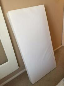 COT MATTRESS & FITTED SHEETS