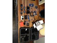 GoPro hero 4 black with loads of extras